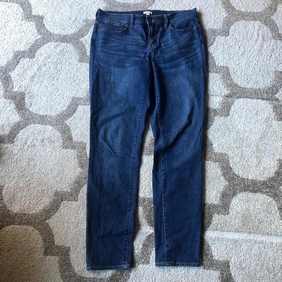 J. Crew Stretch High Rise Skinny Jeans